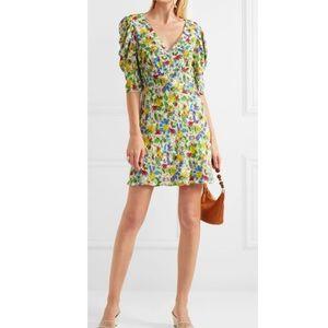SALONI- Colette floral print dress